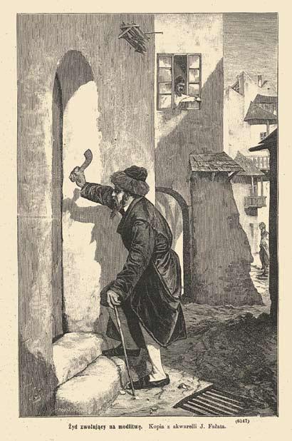 Żyd-zwołujący-na-modlitwę
